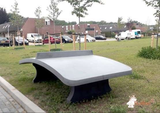 Fodvolleyballbord Antracit-Beton